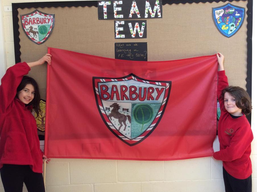 Barbury House Flag