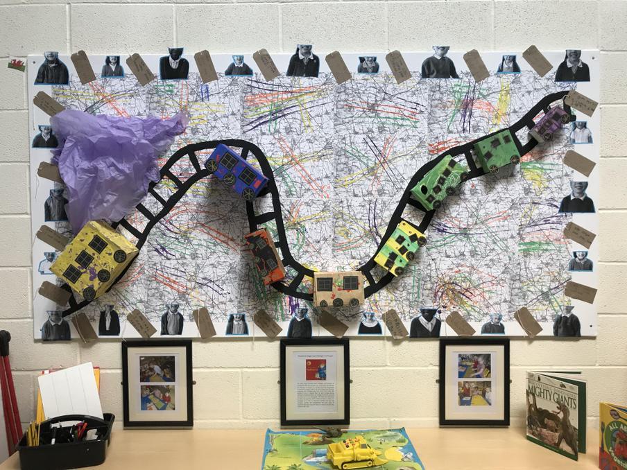 Foundation Stage 'Journey' Inspired by Paddington Bear