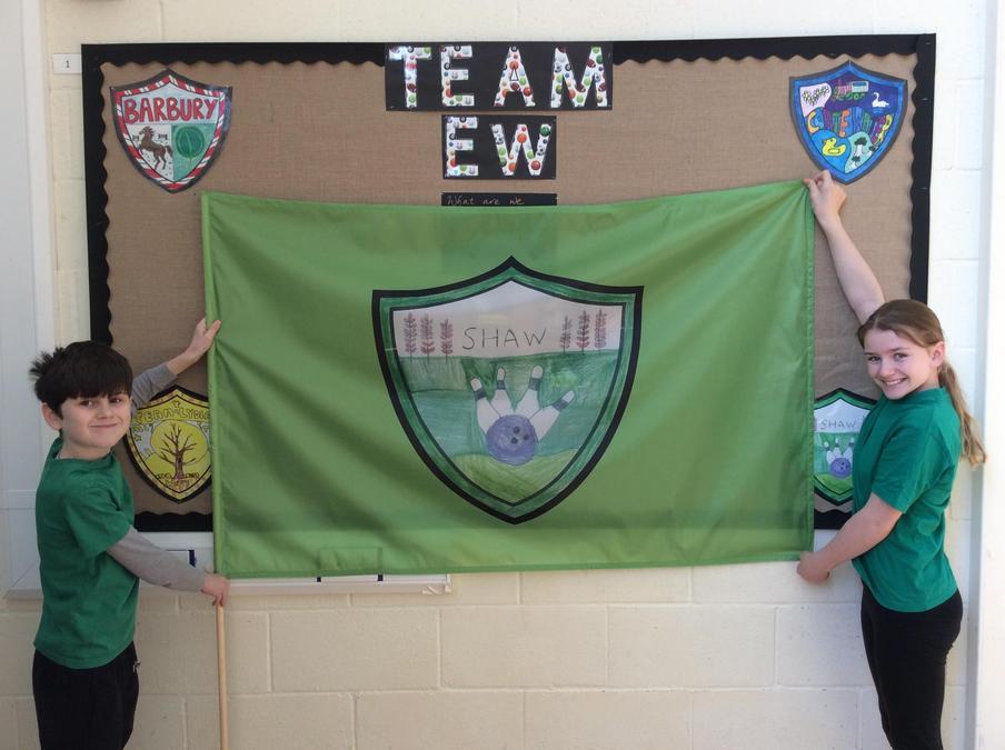 Shaw House Flag