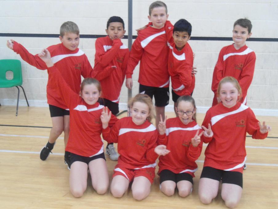 East Wichel Dodgeball squad