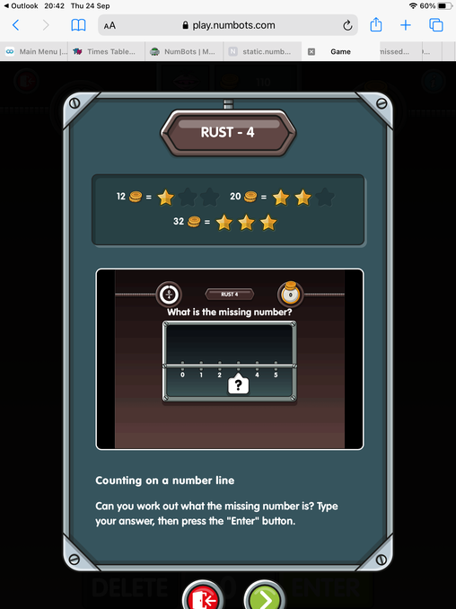 Example of game