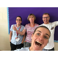 Mrs Hall, Mrs Pullen, Mr Gray and Miss Hardy