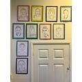 Calligram Portraits