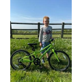 Harry's 16 mile bike ride!