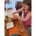 Annabelle baking
