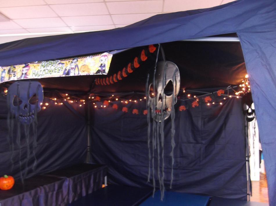 Spooky Story Gazebo