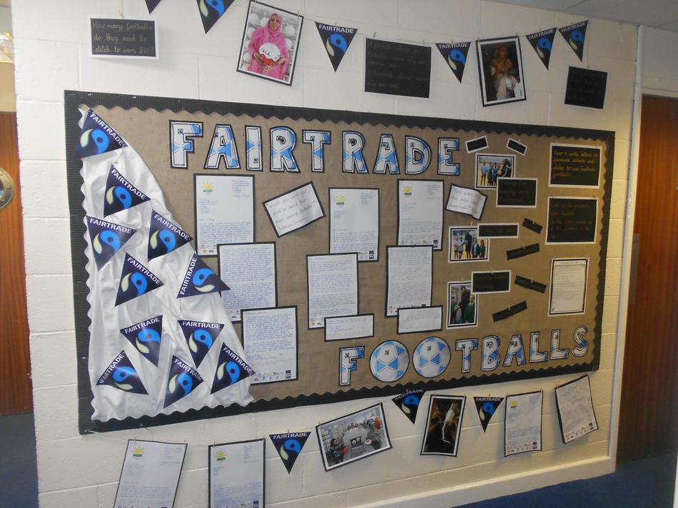 Fairtrade Football - Persuasive Writing Display