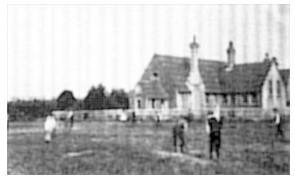 Building the school; 1880