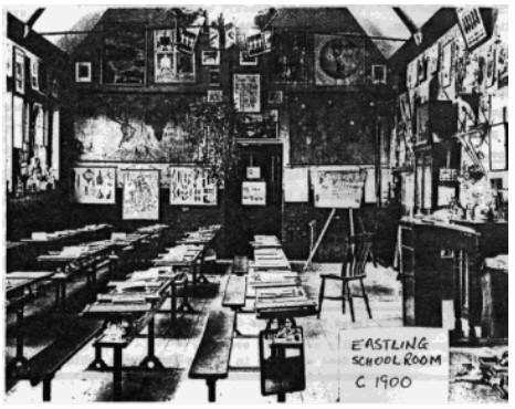 The School Room c1900