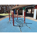 Foundation Stage climbing frame.