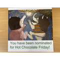 We had our first Hot Chocolate Friday of the new school year.