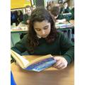 Enjoying our reading books