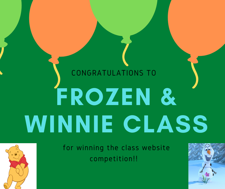 Frozen and Winne classes had the most class page views!