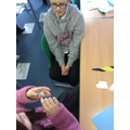 Playing 'Guess the Word' in our Science lesson