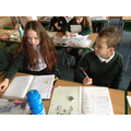 Supporting each other in a maths problem