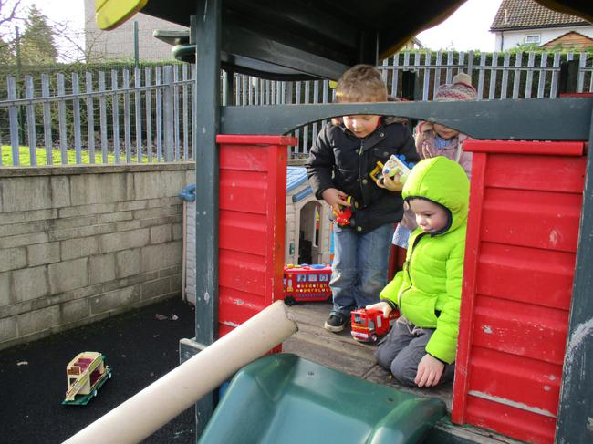 We can make the cars travel through the tube!