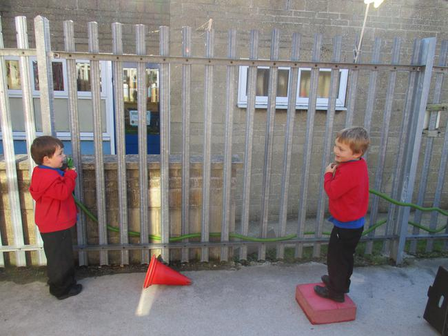 We investigated how sound travels.