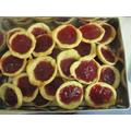 We baked jam tarts