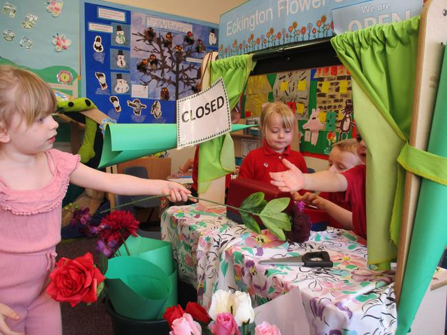 our new role play - flower shop