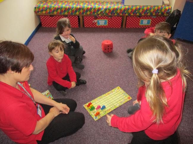 Small group games - counting