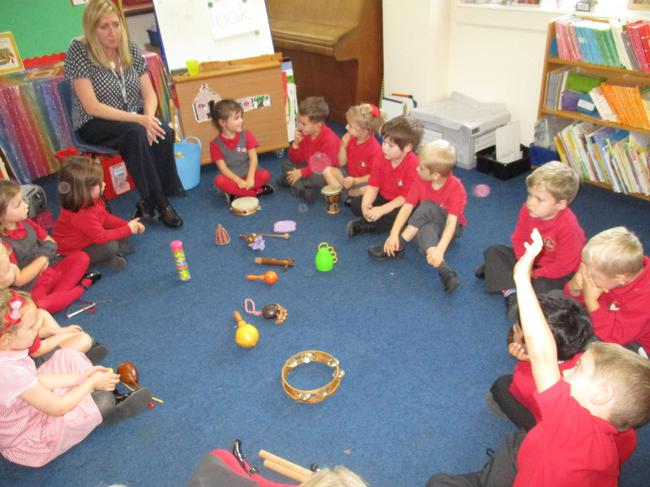 We used the instruments to create Autumn sounds.