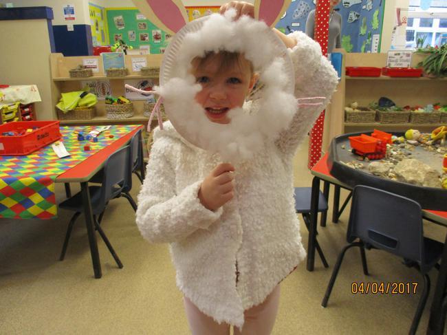 Alana the Easter Bunny