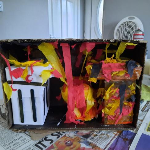 Kaiden's D/T project on the Great Fire of London.