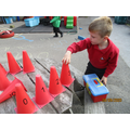 ordering numbers to solve the clue