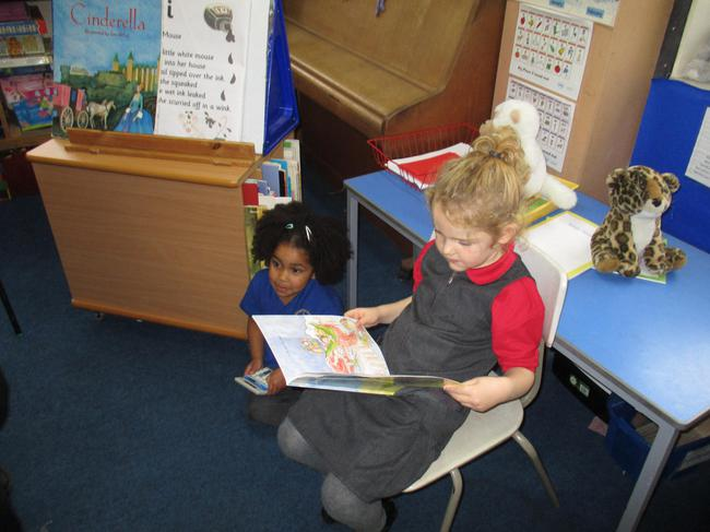 We read our favourite books.