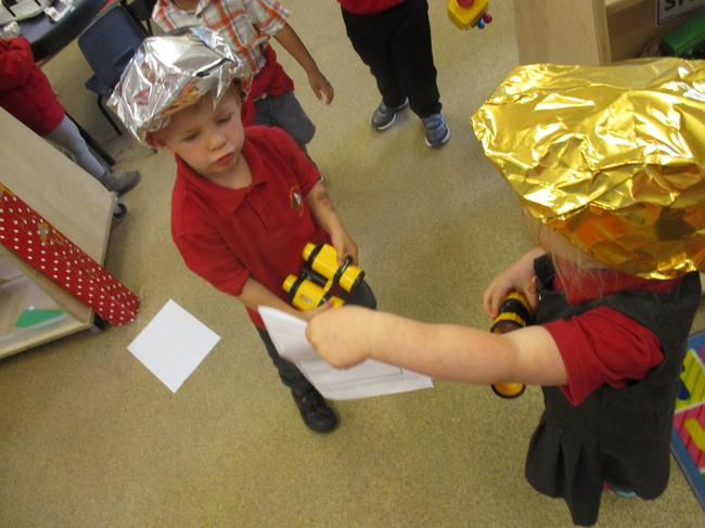 Space role play!