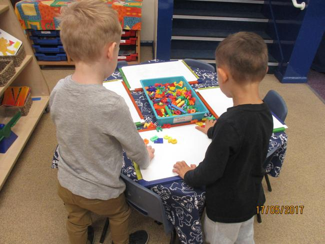 Using magnetic letters