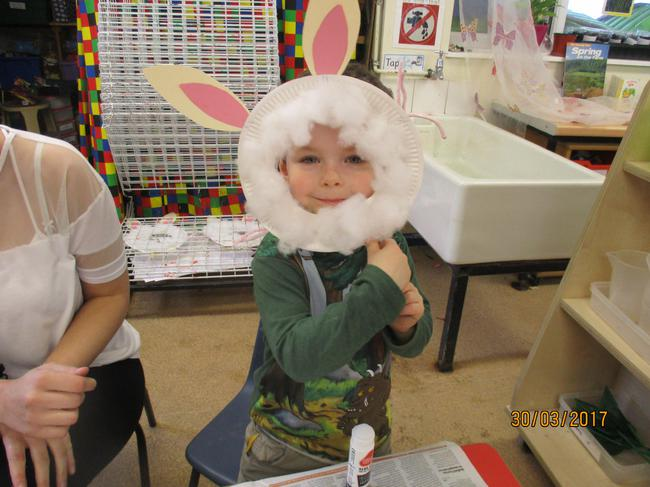 Riley the Easter Bunny. More bunnies to come!