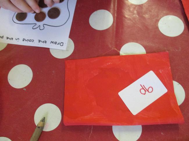 Lucky red envelopes contain money