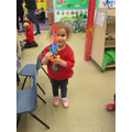 She made a rocket