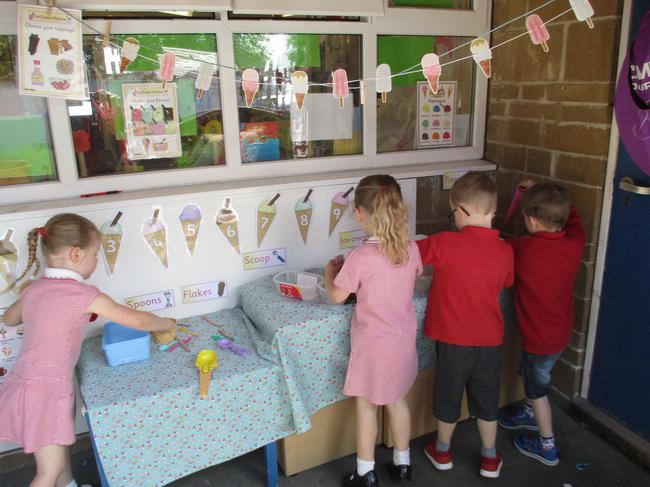 Our new Ice Cream Parlour