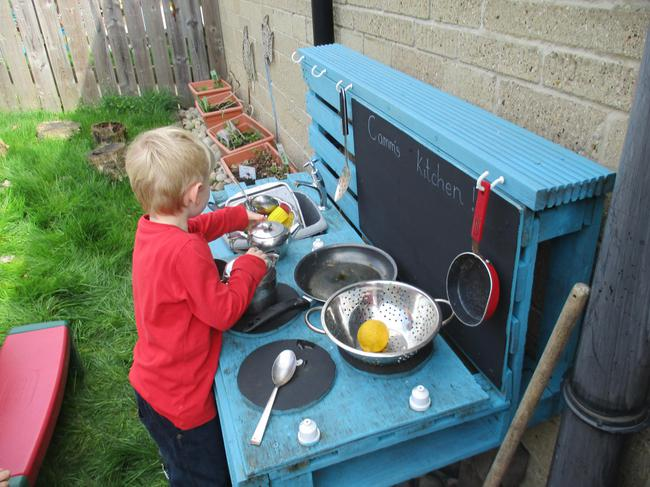 Our outdoor kitchen