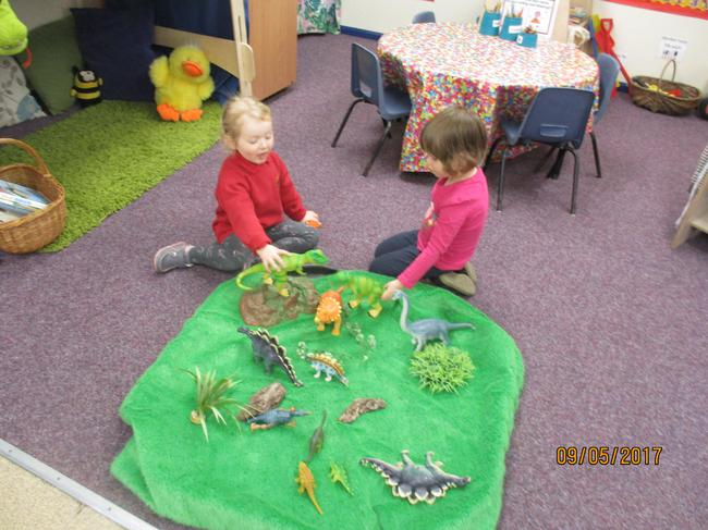 Fun with the dinosaurs