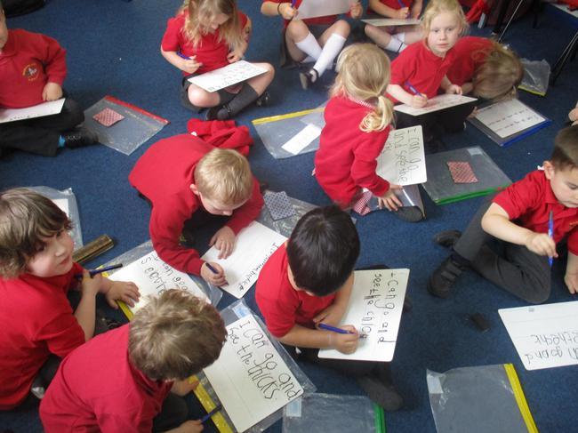 Writing 'egg sentences'