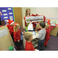 Our new Santa's workshop!