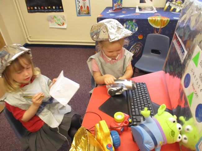 Space rocket role play!