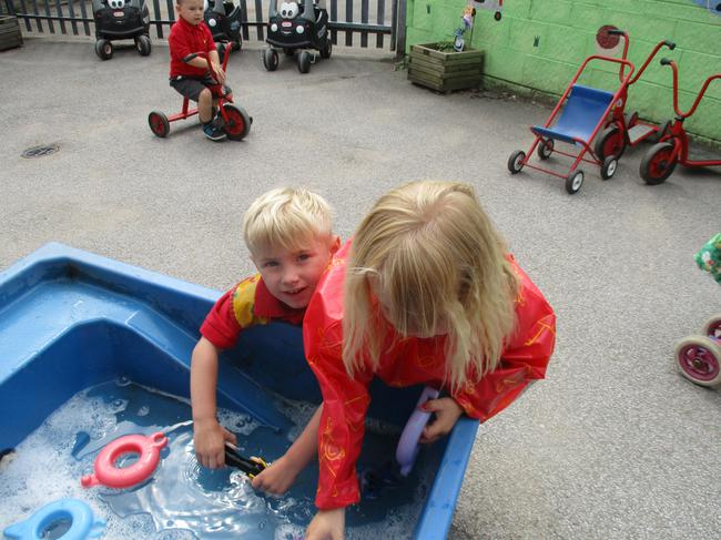 Outdoor water play!
