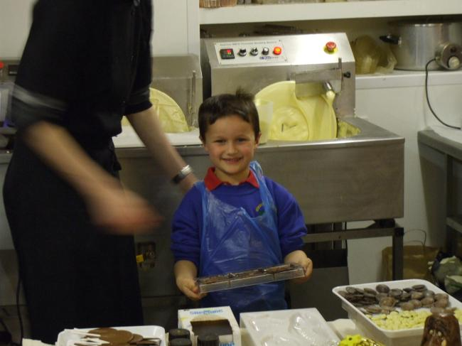 Liam ready to help.