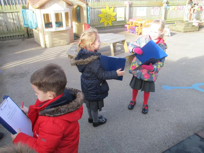 Looking for signs of wind.