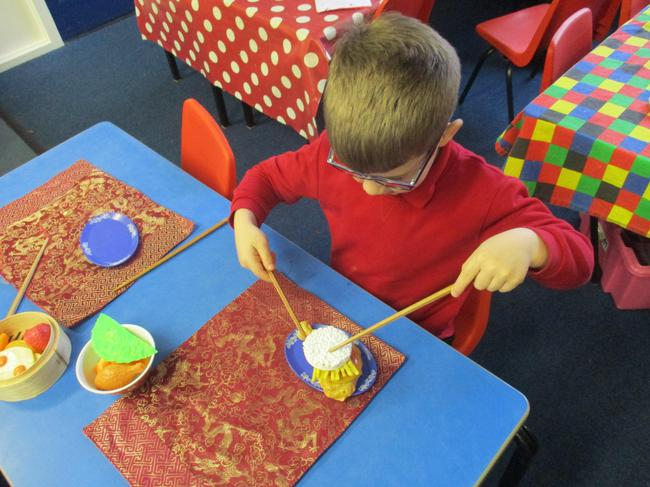 Can you use chopsticks?