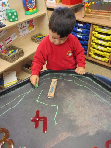 We can write numbers!