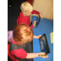 Maths progarms on the tablet to reinforce number