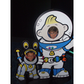 The Future Astronaut try on their suits!