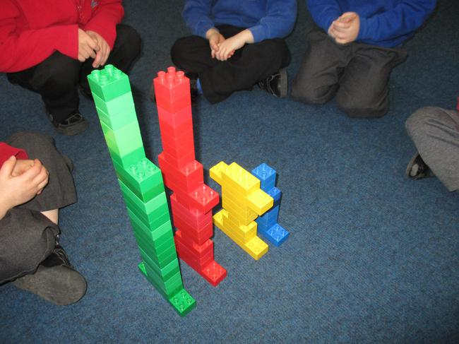 We compared towers