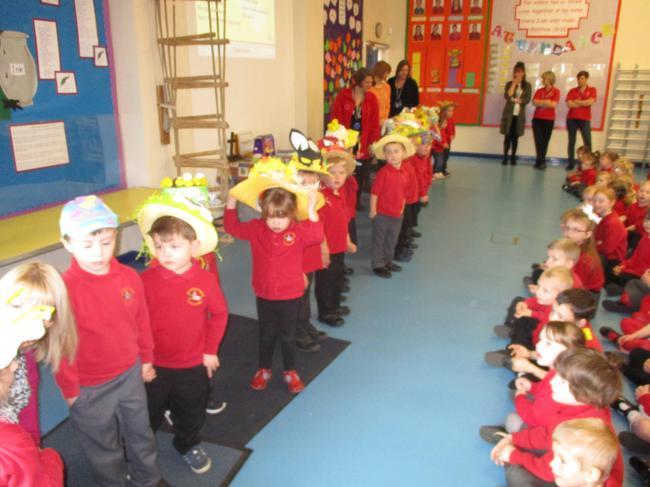 Easter assembly!