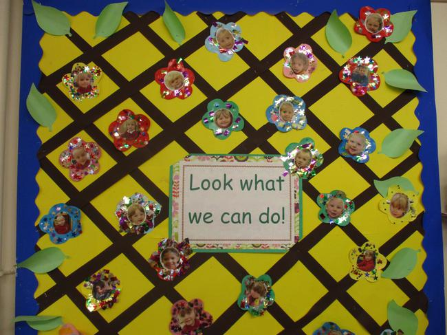 Our achievement display - see below for details.